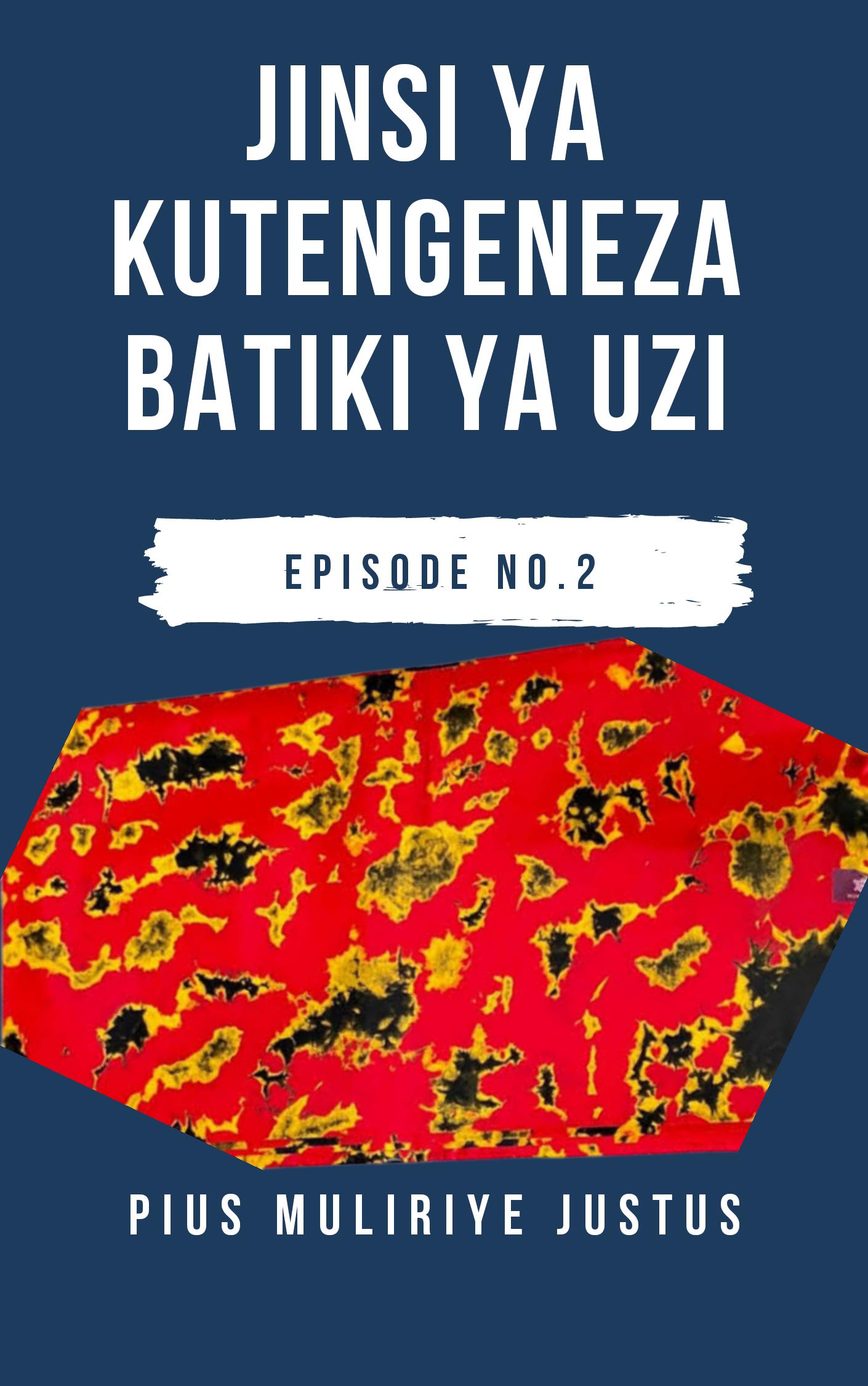BATIKI YA KUSHONA KWA UZI_PART 2