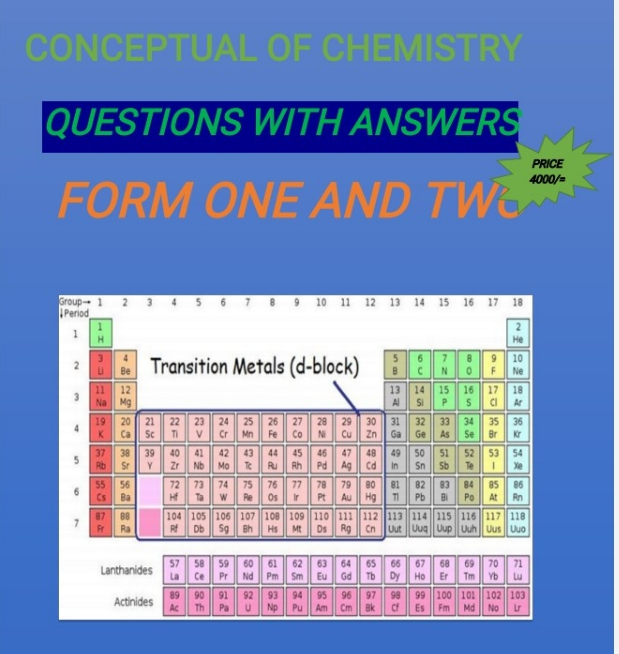 CHEMISTRY BOOK I AND II : QUESTIONS WITH ANSWERS