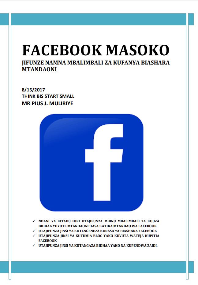 FACEBOOK MASOKO