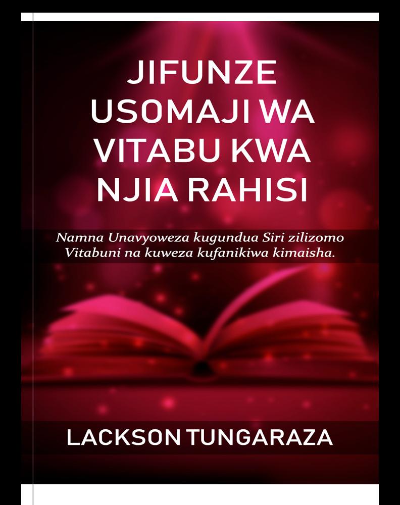 Jifunze Usomaji Wa Vitabu Kwa Njia Rahisi
