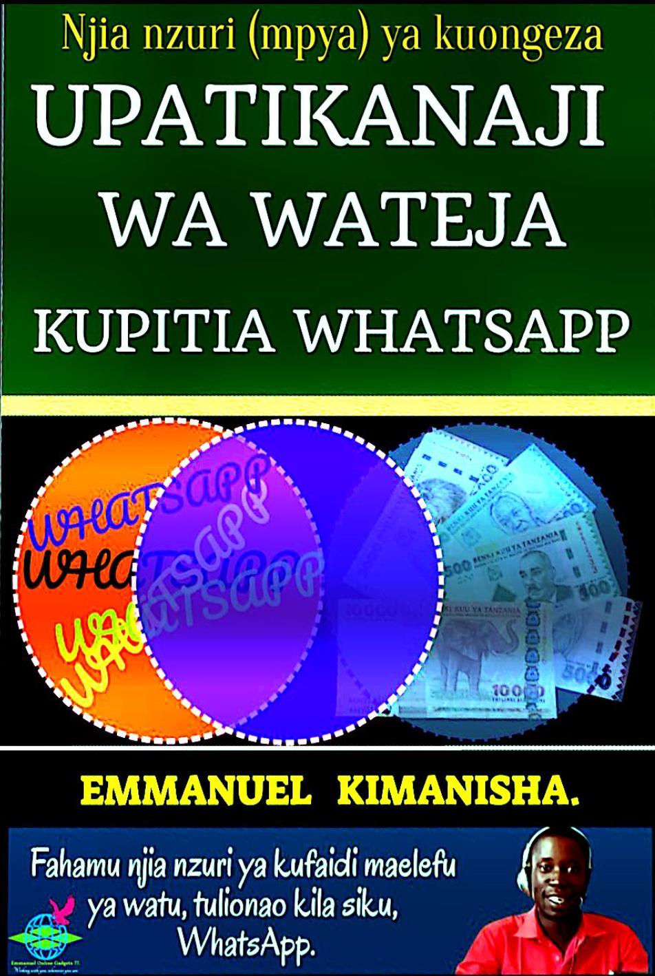 Jinsi Ya Kupata Wateja Kupitia Whatsapp