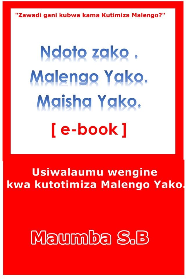 Ndoto Zako Malengo Yako Maisha Yako.